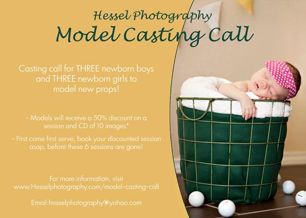 Model Call Flyer